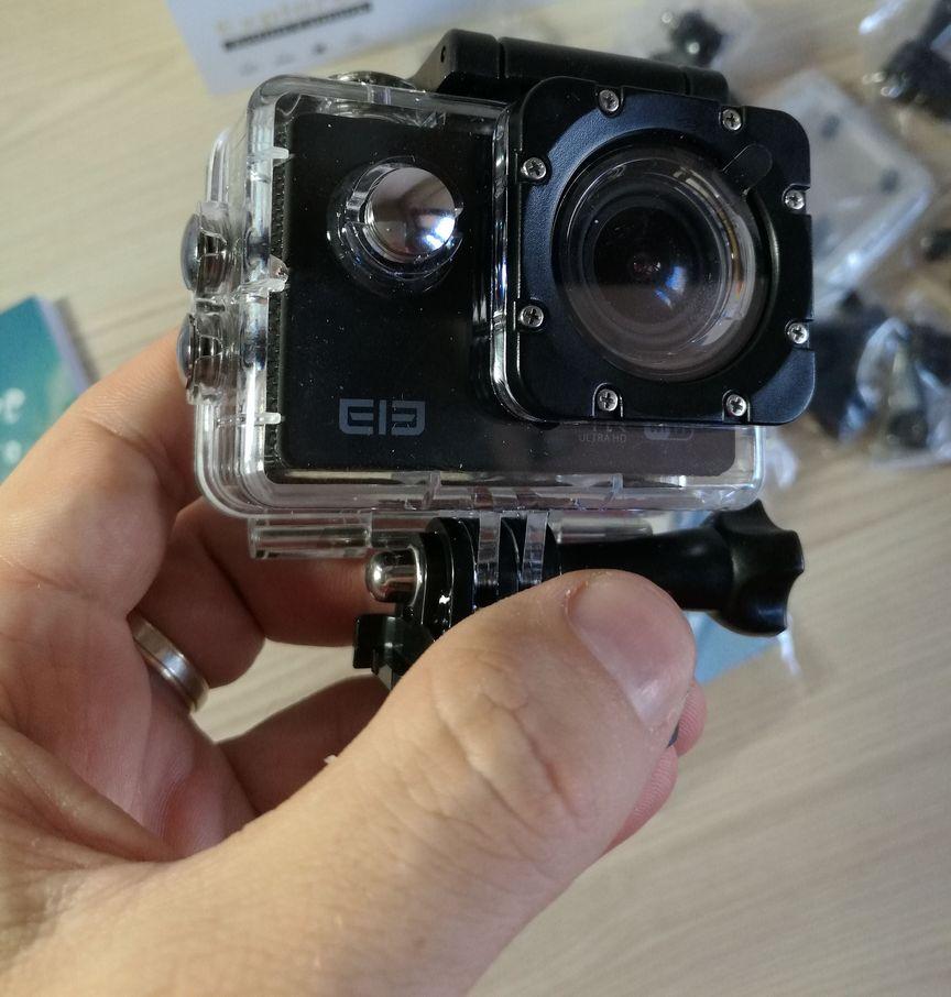 La mia recensione di Elephone – Action Camera Sport 2,0 Pollici 16MP HD 4K 15fps 170 °