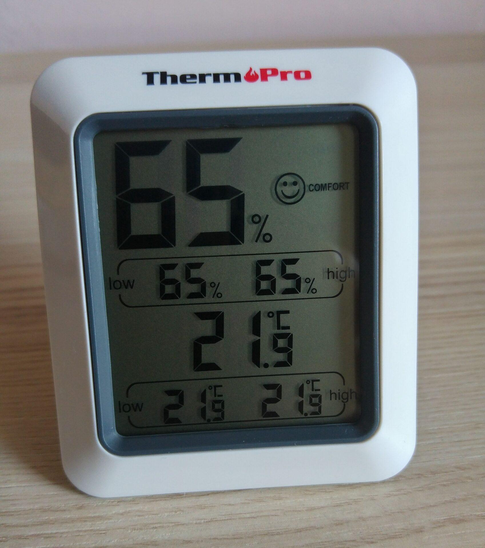 La mia recensione di: Termometro e Igrometro digitale ThermoPro TP50