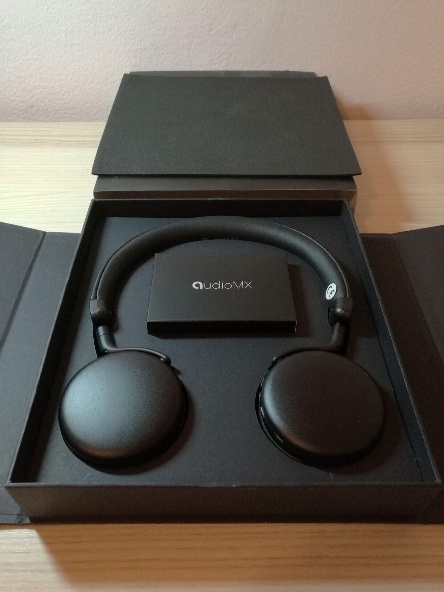 La mia recensione:  Cuffie Stereo Bluetooth 4.1 AudioMX