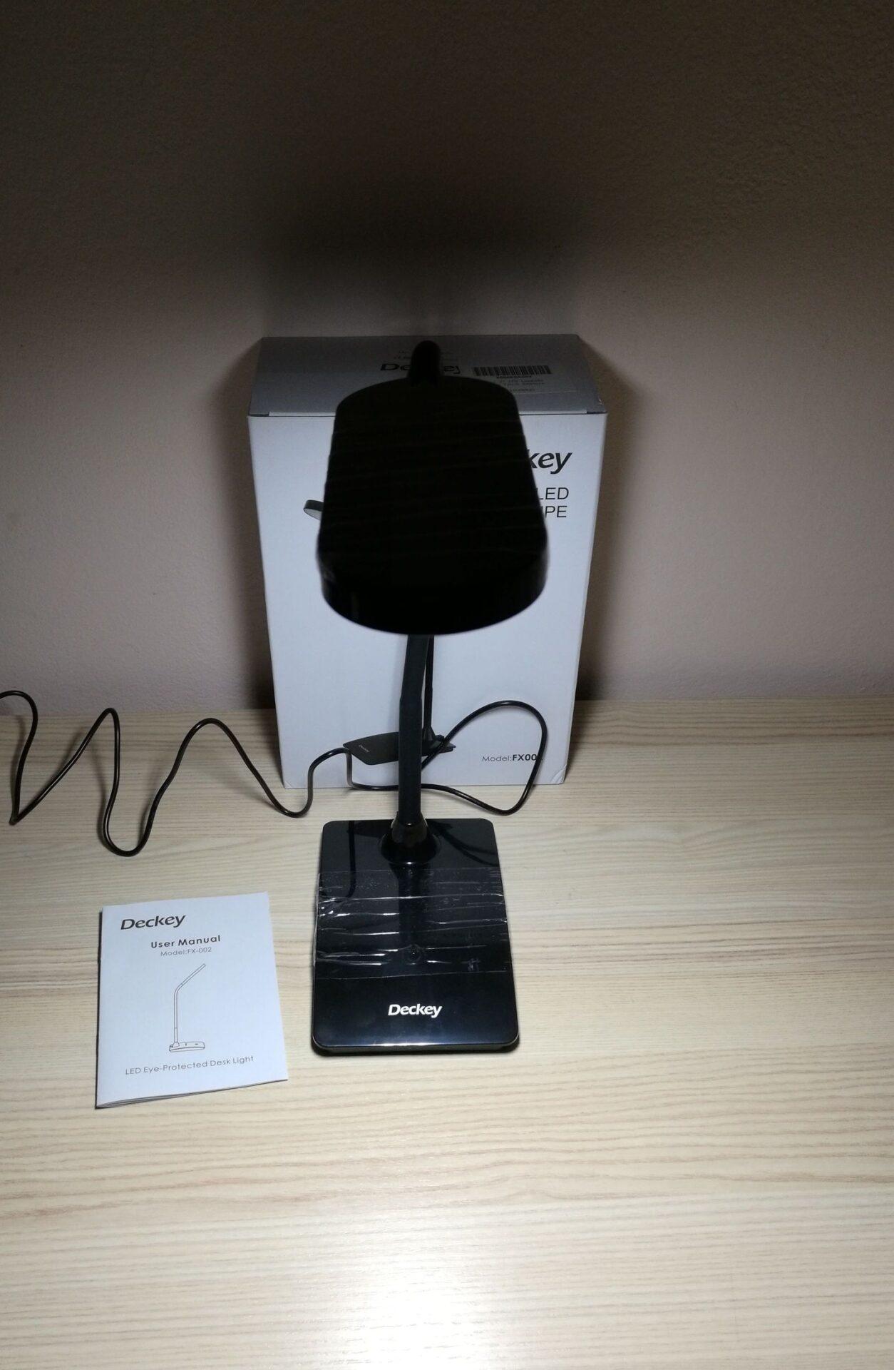 La mia recensione della Lampada da Tavolo 6 Watt Deckey