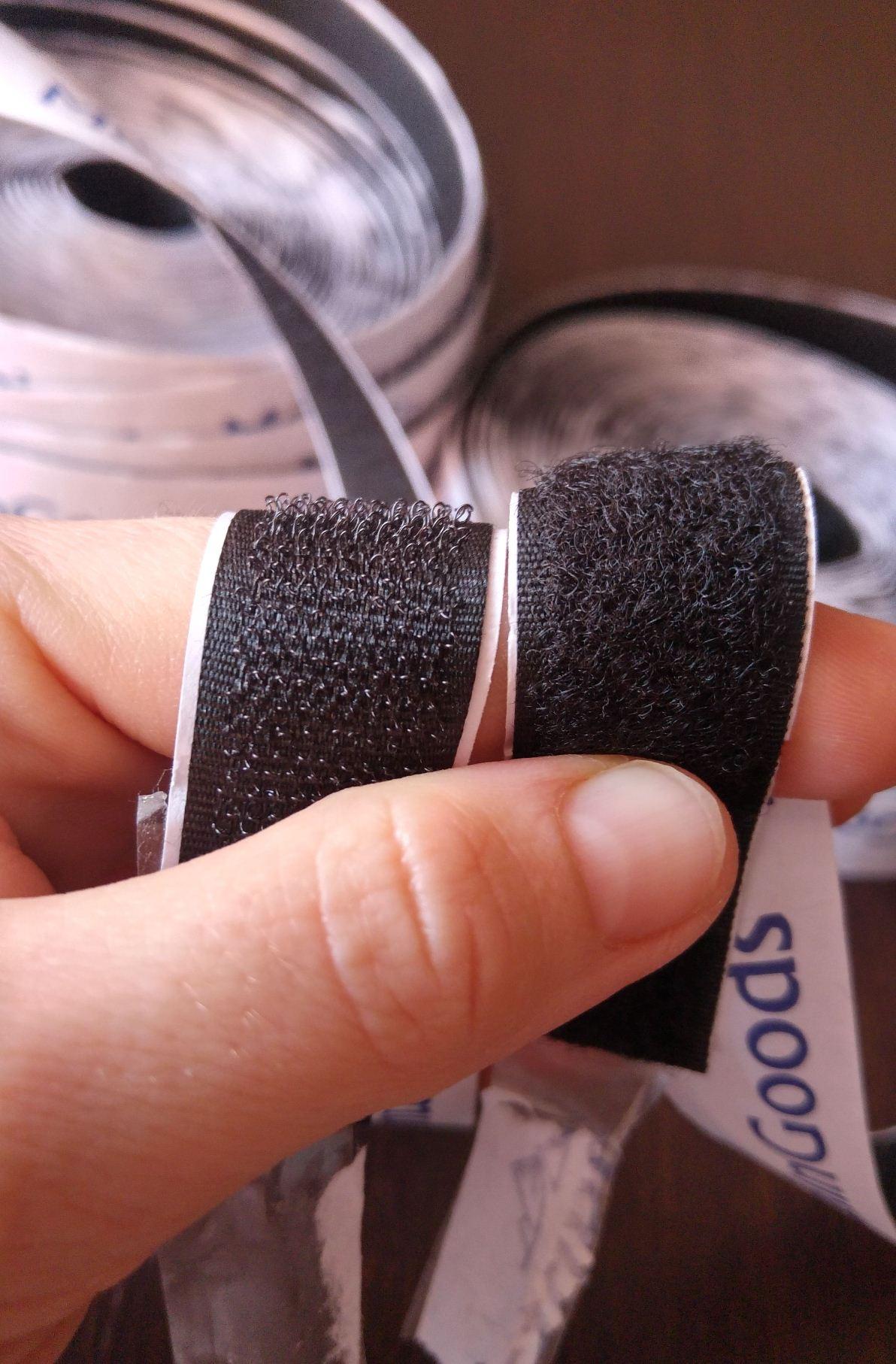 La mia recensione di: Velcro 10 m MountaingGoods con biadesivo