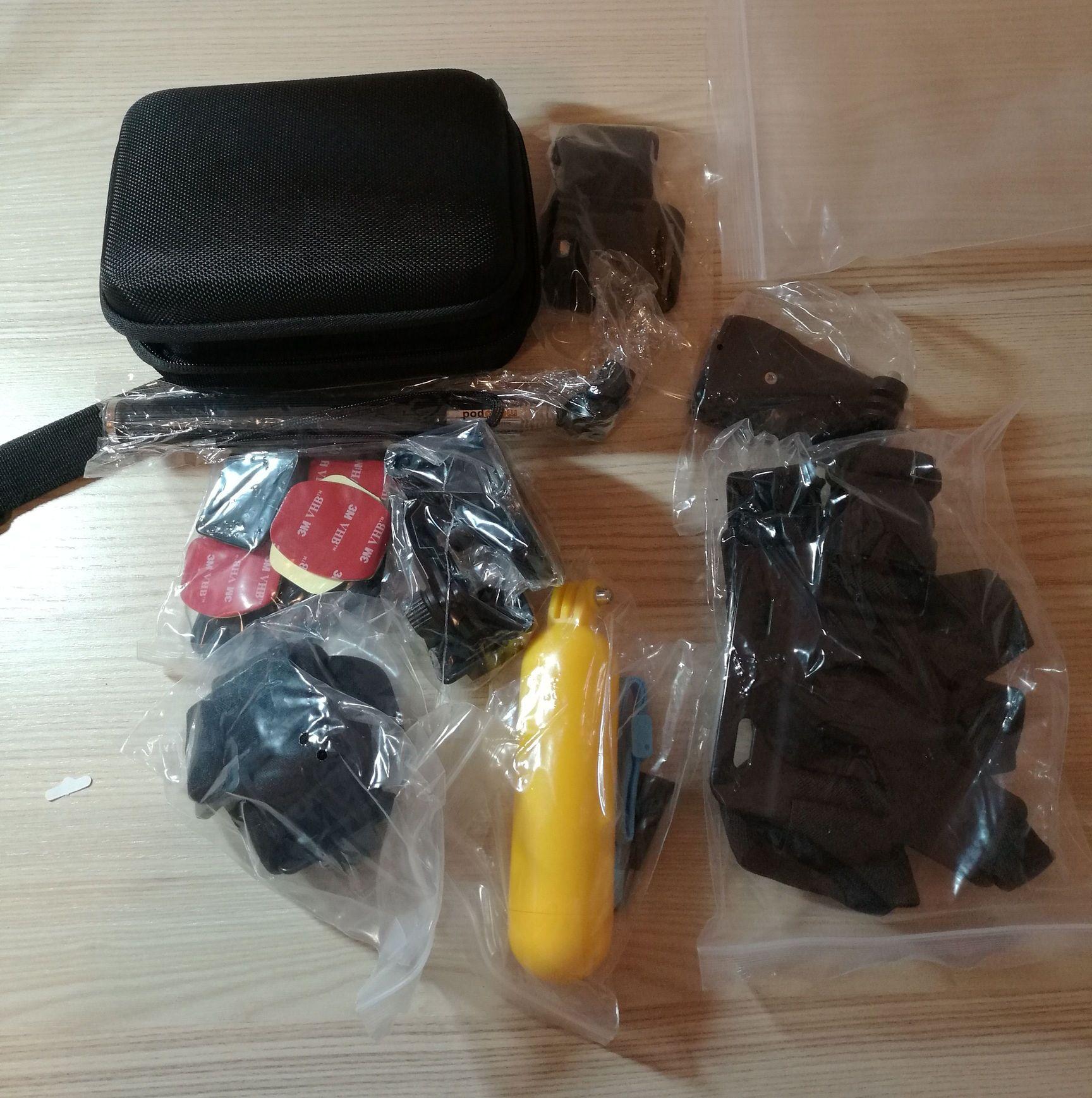 La mia presentazione di Kit Accessori per GoPro e compatibili Zookki