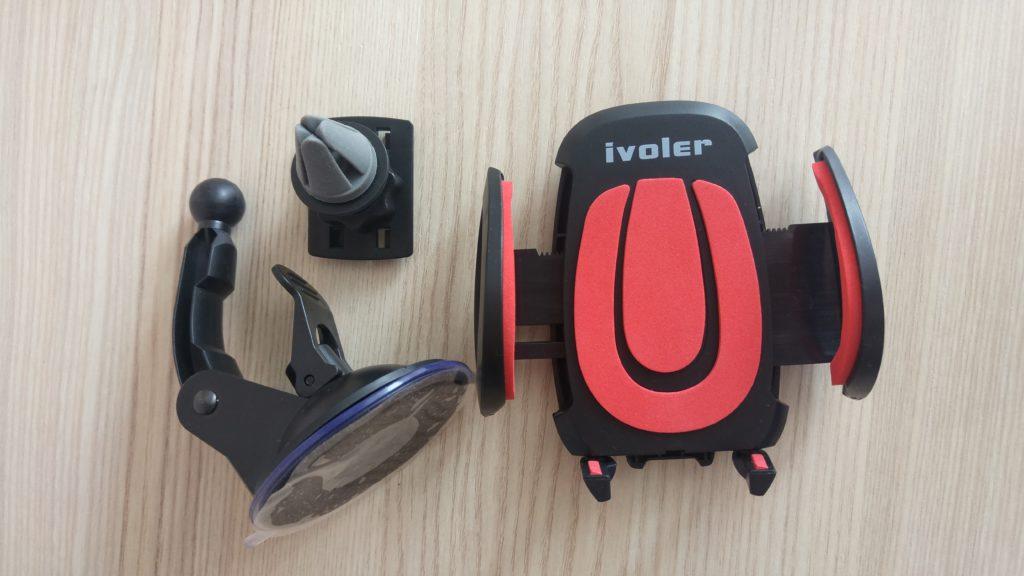 Porta cellulare da auto universale con braccio regolabile - Porta ipod da braccio ...