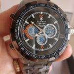 Globenfeld Super Sport – Orologio da polso con cronometro