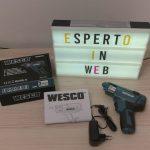 Avvitatore elettrico Wesco, la mia recensione